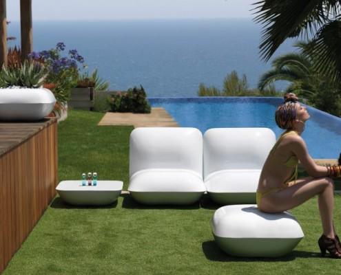 Gartenmöbel Serie Pillow von VONDOM