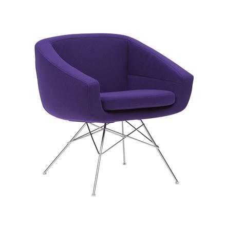 aiko lounge sessel von soft line design m bel. Black Bedroom Furniture Sets. Home Design Ideas