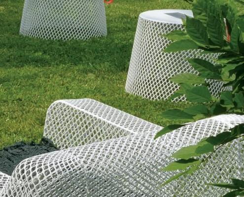 Hocker oder Tisch Ivy, mit Solarbeleuchtung