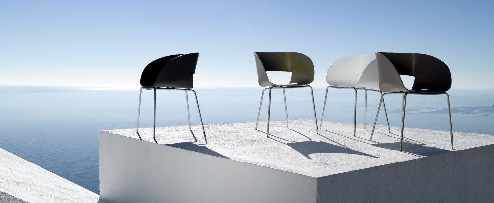 Stuhl Vintage von Bram Bollen für Tribù, Bild Tribù