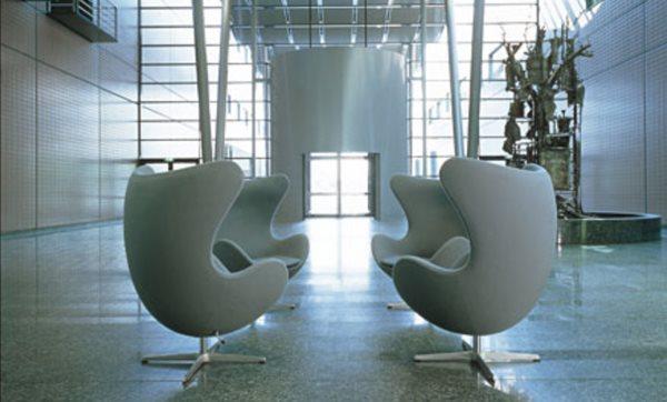 Ei Sessel von Arne Jacobsen