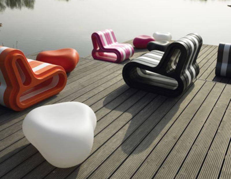 Pebble oder Kei, ein Kieselstein in der Designwelt