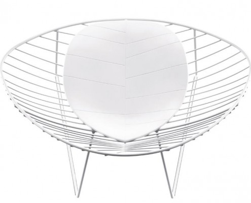 Leafe Lounge Sessel mit Kissen