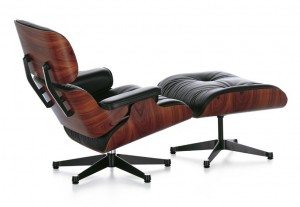 Lounge Chair und Ottoman von Charles und Ray Eames