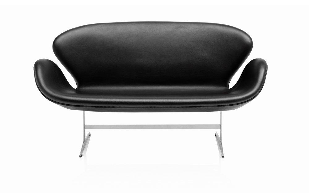 Schwansofa Designklassiker von Arne Jacobsen, Bild Fritz Hansen
