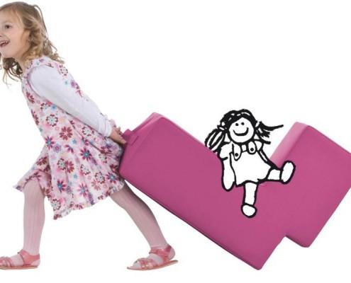 Sessel Lümmel ideal auch für Kinder, Bild Lümmel