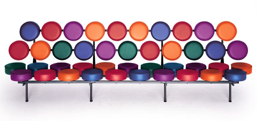 Marshmallow Sofa ein Designklassiker von George Nelson