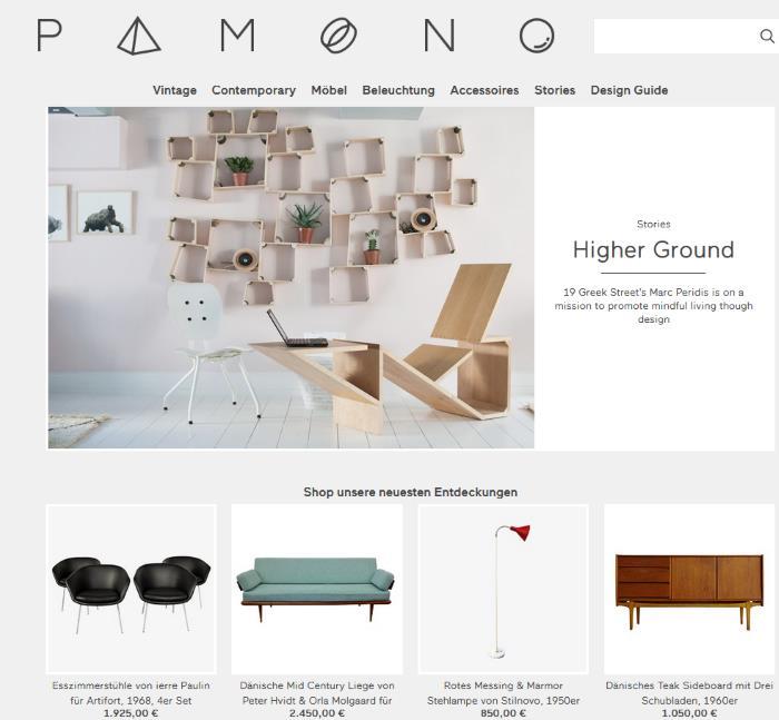 vintage m bel shop pamono design m bel. Black Bedroom Furniture Sets. Home Design Ideas