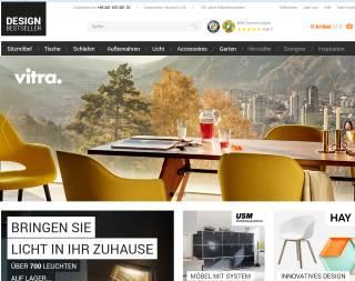 Design Bestseller Möbelshop