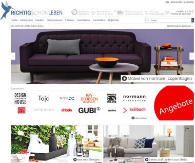 richtig schön Möbelshop im Internet