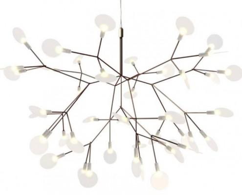 Heracleum mit 63 LED Lampen