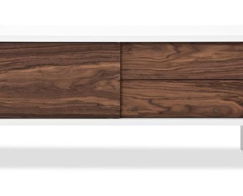 Sideboard Montevideo mit praktischem Kabeldurchlass für TV Geräte