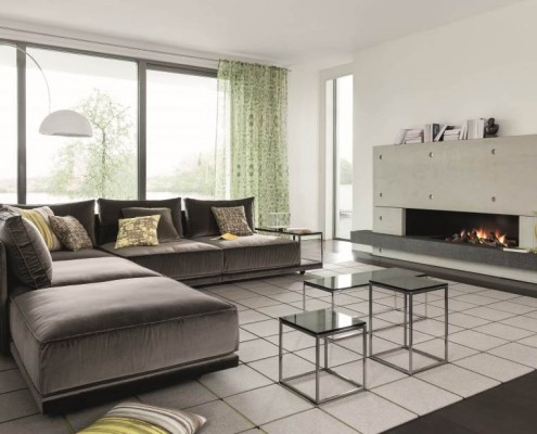 Wohnungseinrichtung mit Polstermöbel von ipdesign