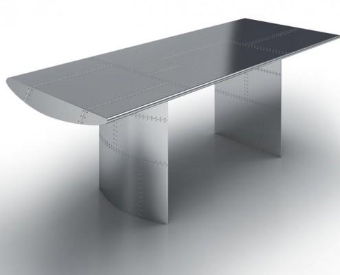 Claud Aluminiumtisch