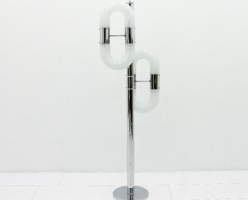 Stehlampe von Carlo Nason für Mazzega