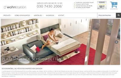 Wohnstation online Möbel Shop