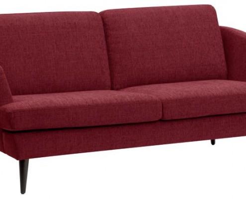 Zweisitziges Sofa im retro Look