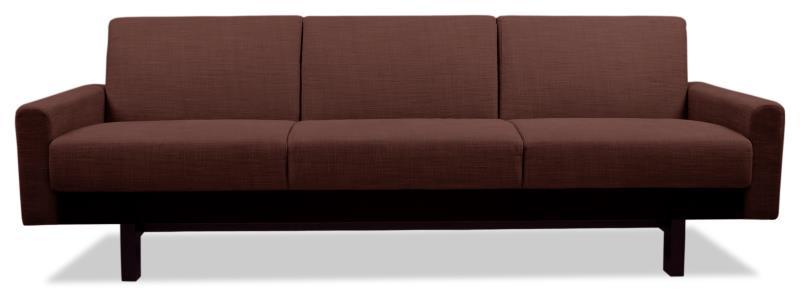 Dreisitziges Sofa in der Trendfarbe Marsala