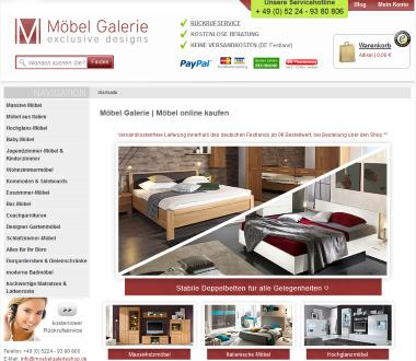m bel galerie shop design m bel. Black Bedroom Furniture Sets. Home Design Ideas