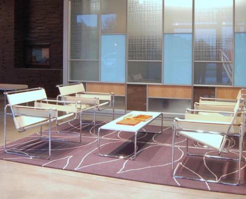 Wassily Sessel im Bürobereich