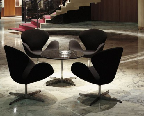 swan chair von arne jacobsen design m bel. Black Bedroom Furniture Sets. Home Design Ideas
