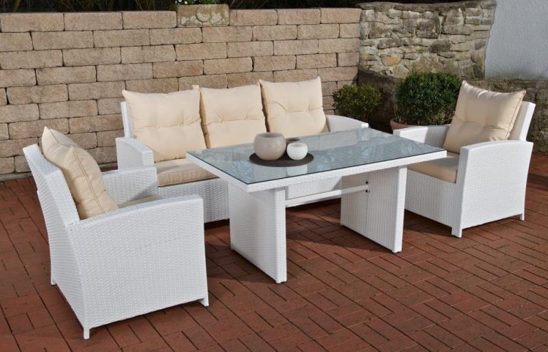 gartenmobel holz oder polyrattan. Black Bedroom Furniture Sets. Home Design Ideas