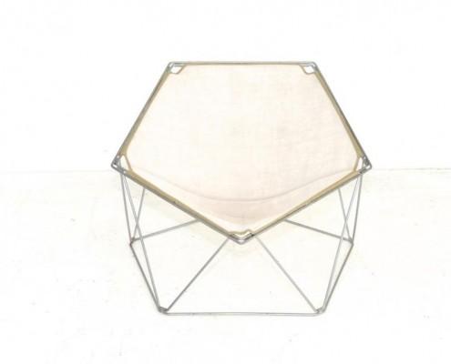 Penta Folding Sessel - Fünfecken-Stuhl von Barry und Moltzer
