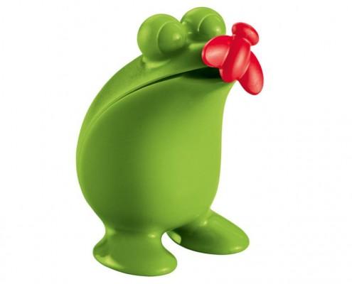 Wohnaccessoires: Ein Frosch mit Maßband