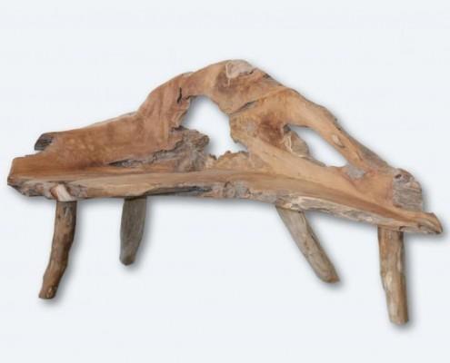 Gartenbank aus Treibholz