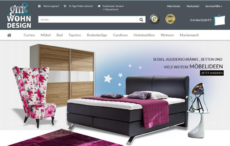 gm wohndesign design m bel. Black Bedroom Furniture Sets. Home Design Ideas
