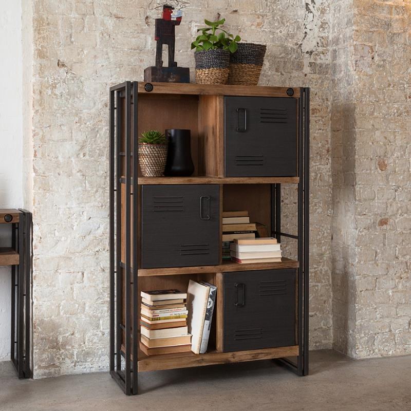 Industrielle Einrichtung für junges Wohnen  Design Möbel