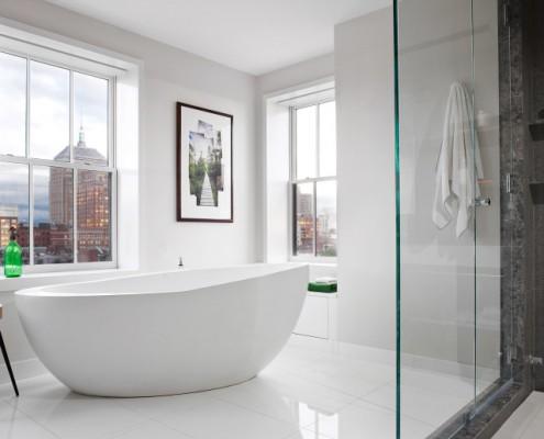 Badezimmer der Extraklasse