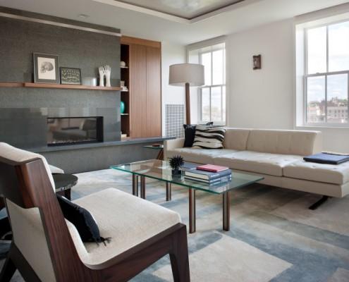 wohnungseinrichtung im zero marlborough von hacin. Black Bedroom Furniture Sets. Home Design Ideas