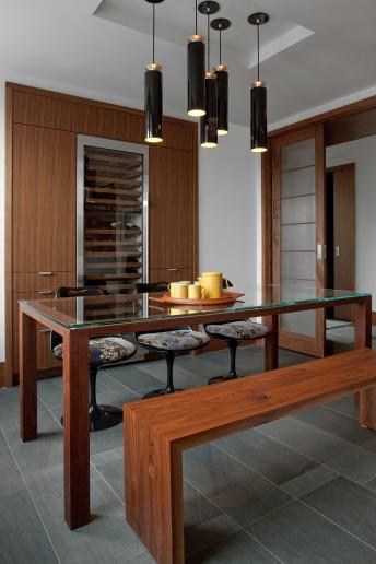wohnungseinrichtung im zero marlborough von hacin associates design m bel. Black Bedroom Furniture Sets. Home Design Ideas