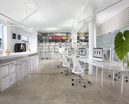 Büroeinrichtung von Jay Britto und David Charette in Miami