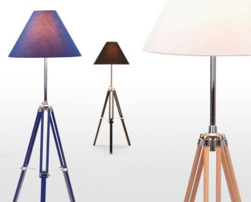 Navy Stehlampe, tolle Stehlampe zum günstigen Preis