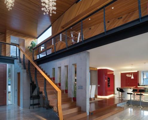 Exklusiver Wohnbereich mit offenen Räumen