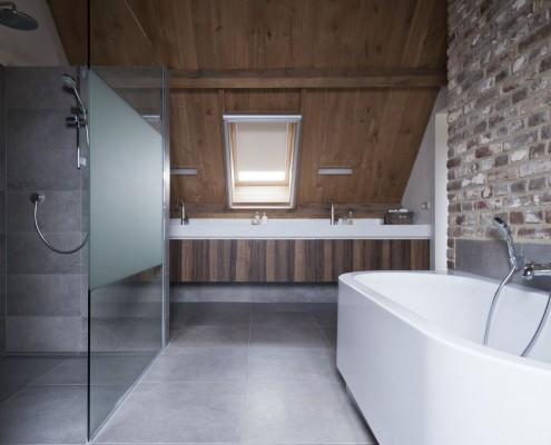 Badezimmer im Bauernhaus