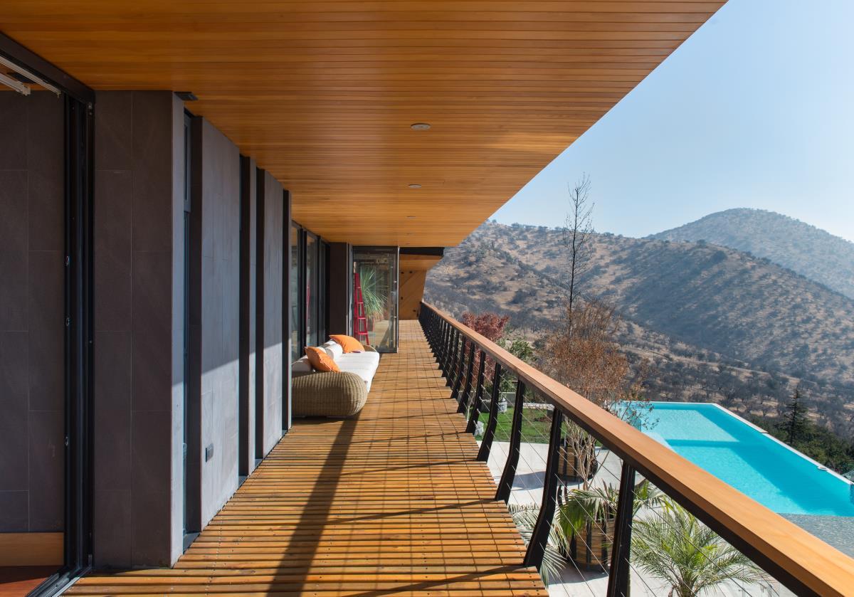 Luxushaus in Santiago de Chile Design Möbel