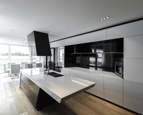 Tolle Küche mit freistehendem Küchenblock
