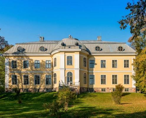 Schloss Fogelvik von hinten