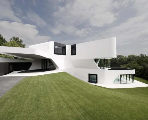 Traumhaus mit organische Formen