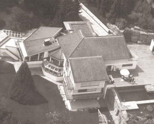 Altes Haus als Basis für den Neubau