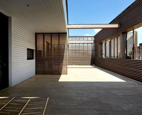 Innenhof im Ark Haus