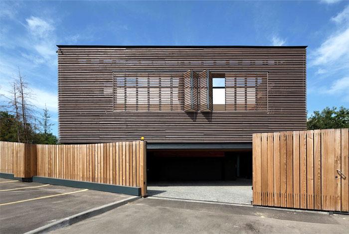 Ark haus von drozdov partners design m bel for Modern house ark