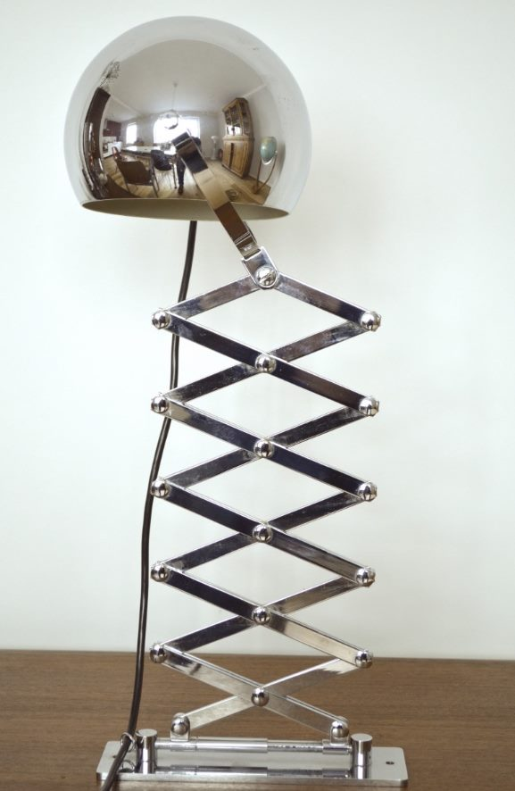 Scherenlampe von Ingo Maurer & Dorothee Becker für Design M