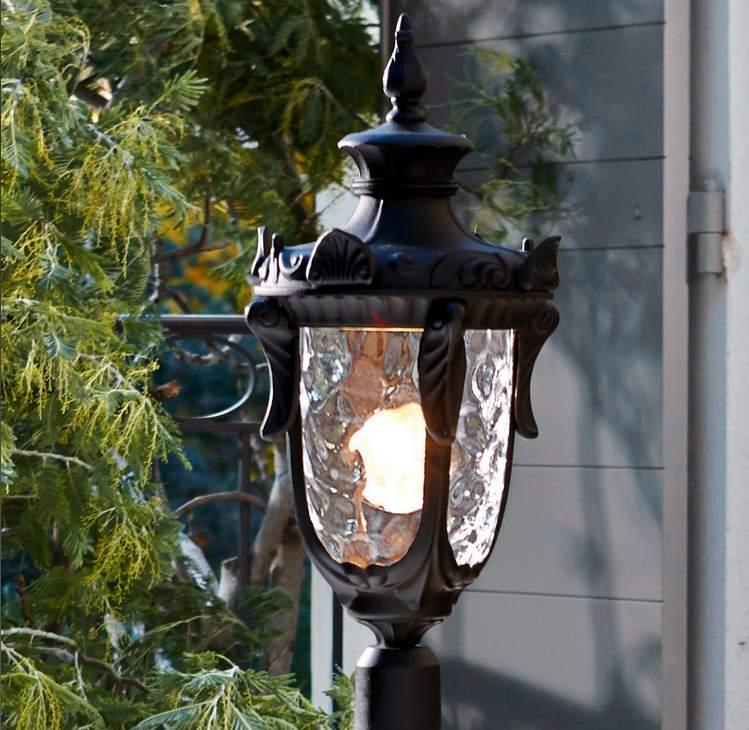 Gartenlampe aus Eisen