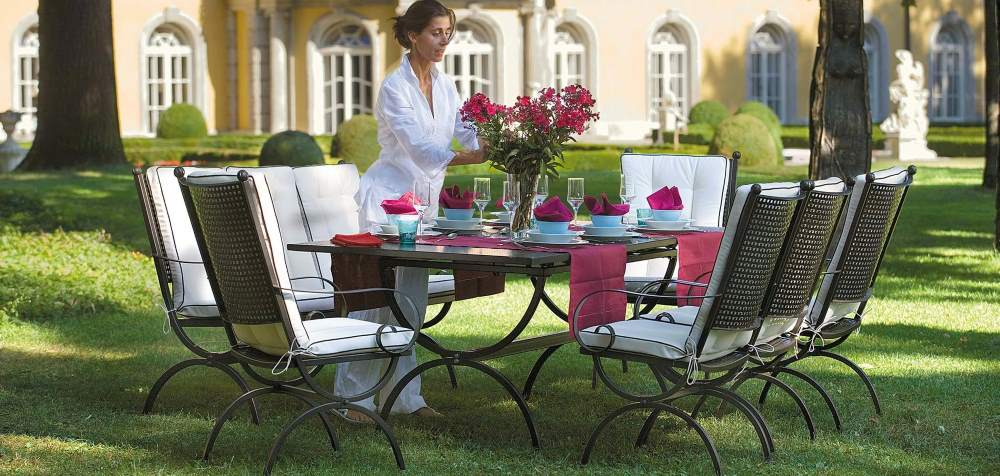 Esstisch für den Garten