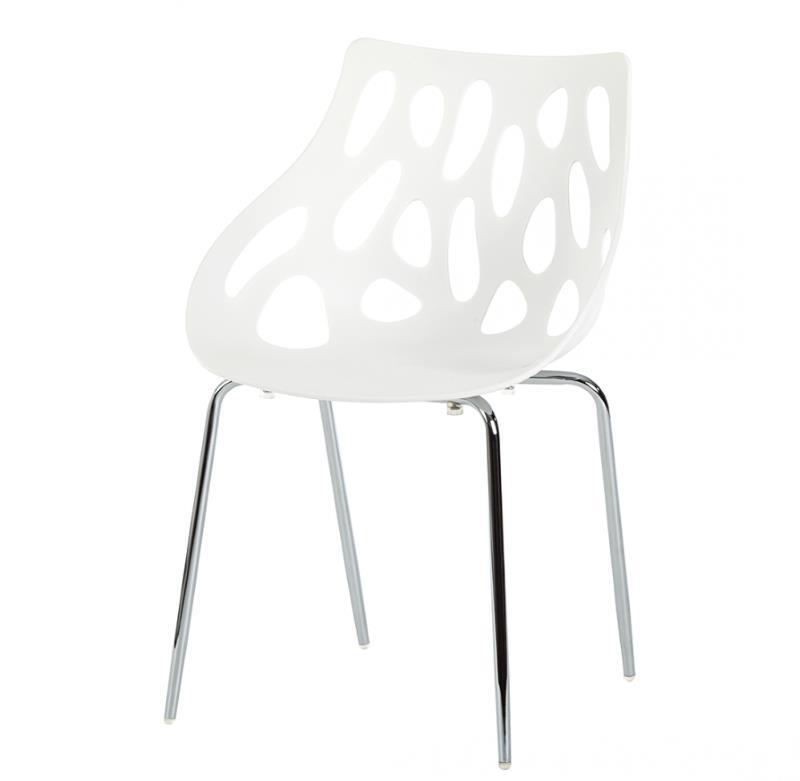 Esszimmerstuhl Folino mit Kunststoffsitzschale