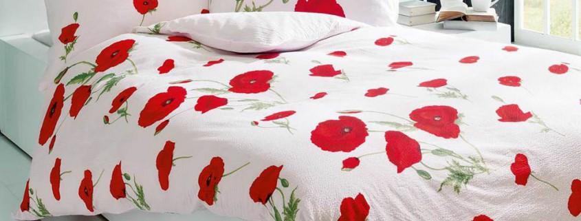 Frische Bettwäsche für den Frühling und Sommer
